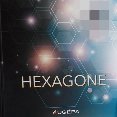 Hexagone tapéta