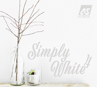 Simply White 4 tapéta