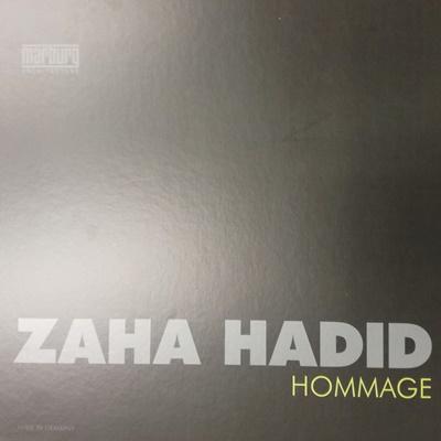 Zaha Hadid Hommage katalógus