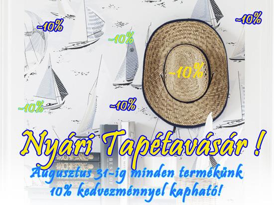 Nyári tapéta akció Budapest