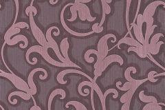 Különleges motívumos,természeti mintás,valódi textil,virágmintás,pink-rózsaszín,gyengén mosható,vlies tapéta