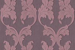 Barokk-klasszikus,különleges motívumos,természeti mintás,valódi textil,virágmintás,pink-rózsaszín,gyengén mosható,vlies tapéta