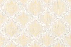 Barokk-klasszikus,különleges motívumos,természeti mintás,valódi textil,virágmintás,arany,fehér,gyengén mosható,vlies tapéta