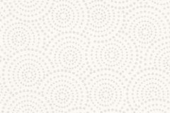 Absztrakt,geometriai mintás,különleges motívumos,pöttyös,fehér,szürke,lemosható,vlies tapéta