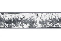 Fa hatású-fa mintás,különleges motívumos,rajzolt,természeti mintás,fekete,szürke,vlies bordűr