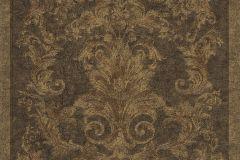 Barokk-klasszikus,különleges felületű,arany,barna,piros-bordó,súrolható,vlies tapéta