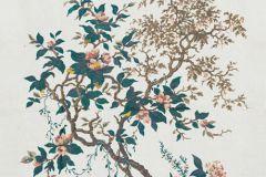 Természeti mintás,virágmintás,arany,barna,kék,narancs-terrakotta,sárga,türkiz,vajszín,zöld,gyengén mosható,vlies panel
