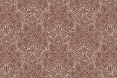 Barokk-klasszikus,különleges motívumos,rajzolt,csipke,piros-bordó,bézs-drapp,fehér,lemosható,vlies tapéta
