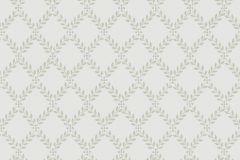 Kockás,textil hatású,fa hatású-fa mintás,textilmintás,szürke,zöld,lemosható,vlies tapéta