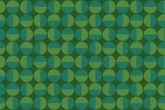 Absztrakt,geometriai mintás,pöttyös,retro,türkiz,zöld,lemosható,vlies tapéta