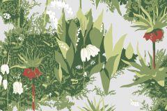 Virágmintás,retro,természeti mintás,gyerek,kék,piros-bordó,zöld,fehér,gyengén mosható,vlies  tapéta