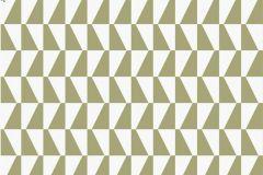 Kockás,retro,geometriai mintás,barna,bézs-drapp,zöld,gyengén mosható,vlies tapéta