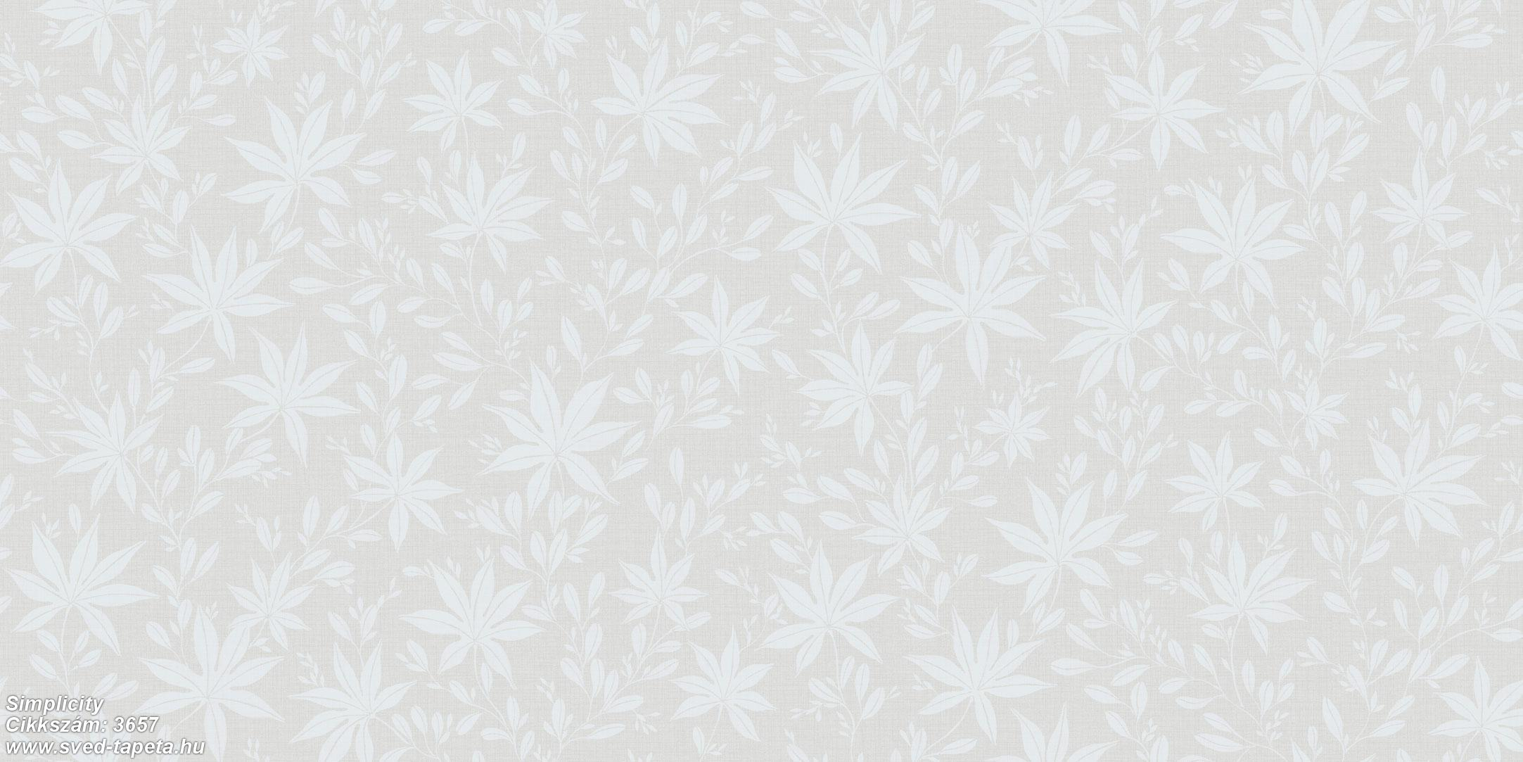 Simplicity 3657 cikkszámú svéd ECOgyártmányú designtapéta