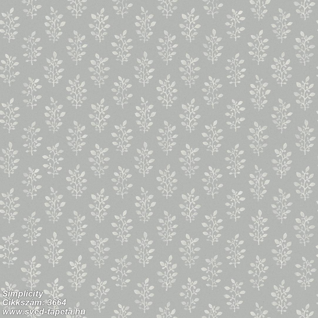 Simplicity 3664 cikkszámú svéd ECOgyártmányú designtapéta