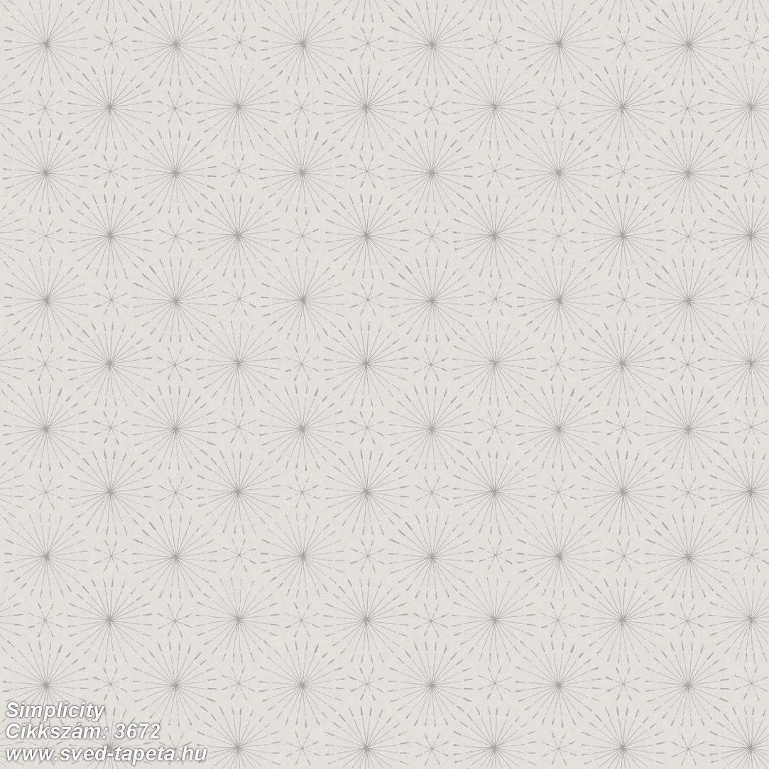Simplicity 3672 cikkszámú svéd ECOgyártmányú designtapéta