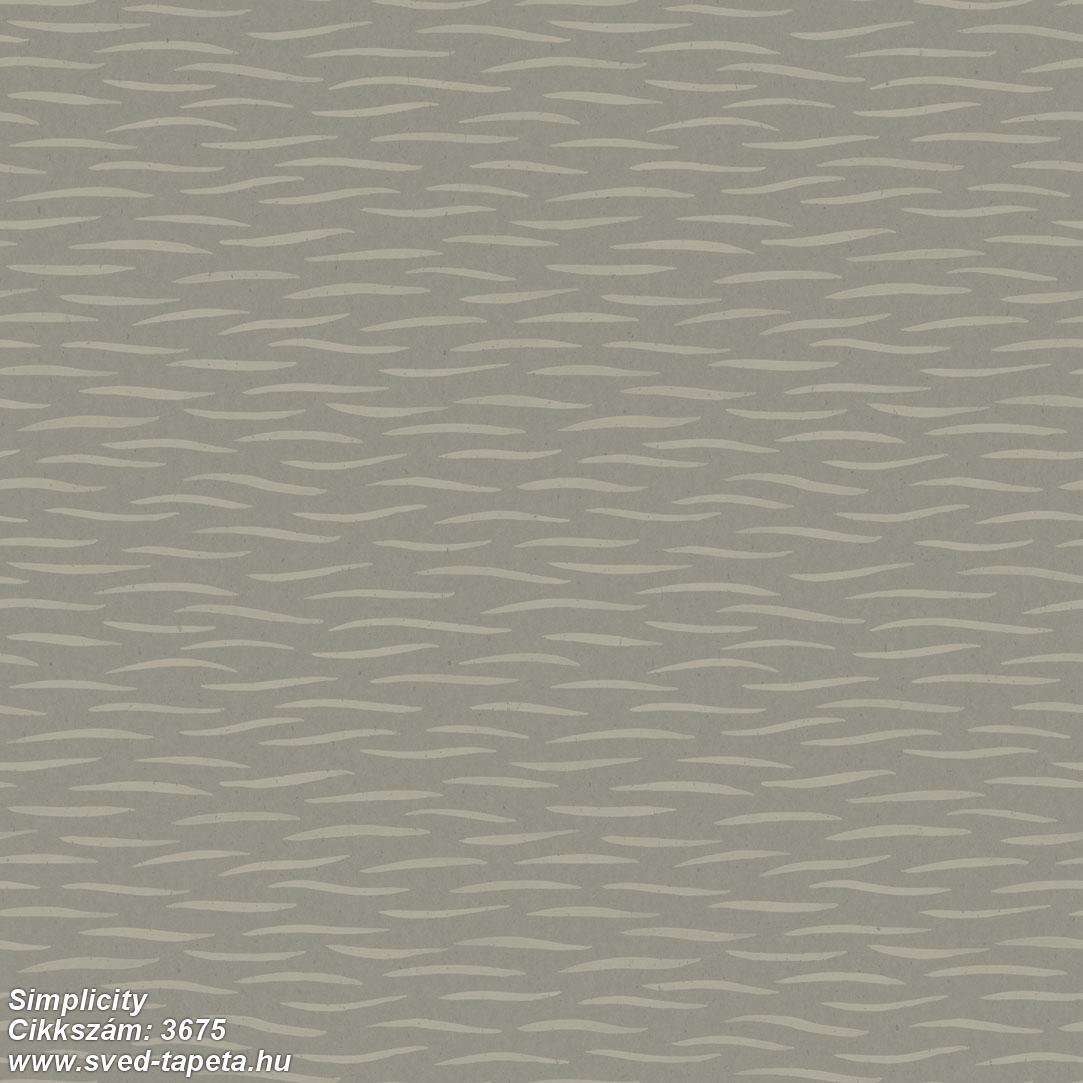 Simplicity 3675 cikkszámú svéd ECOgyártmányú designtapéta