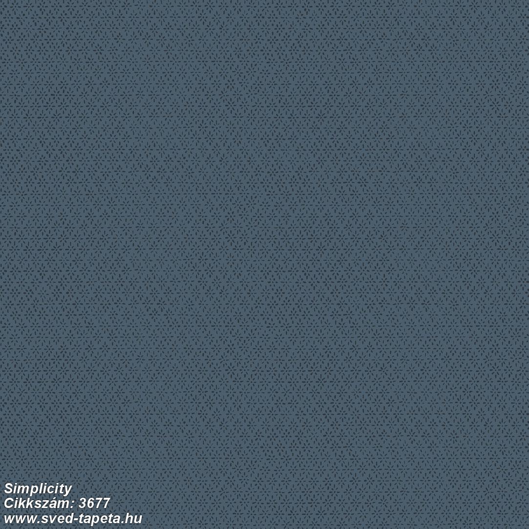 Simplicity 3677 cikkszámú svéd ECOgyártmányú designtapéta