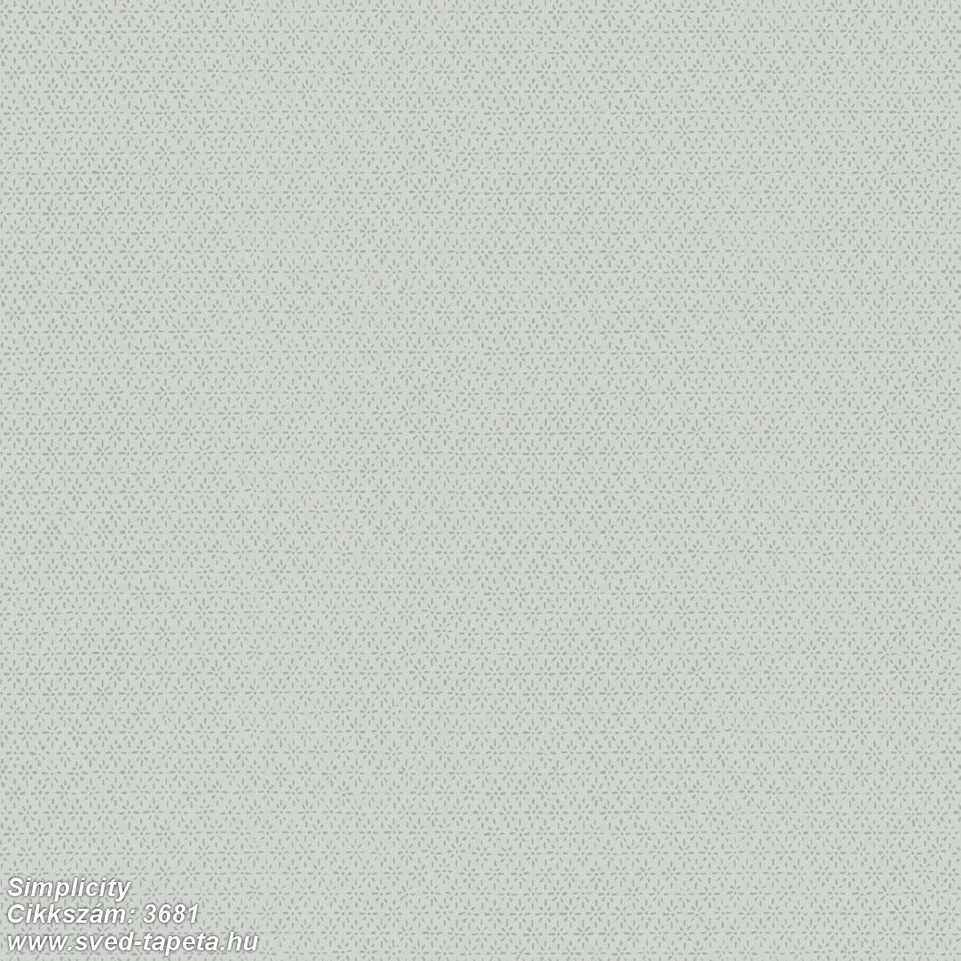 Simplicity 3681 cikkszámú svéd ECOgyártmányú designtapéta