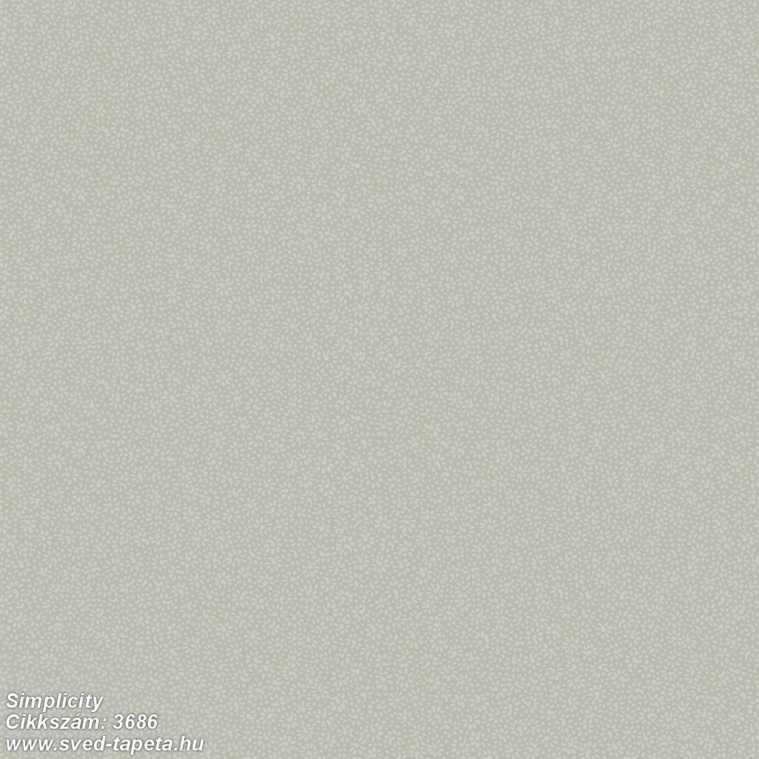 Simplicity 3686 cikkszámú svéd ECOgyártmányú designtapéta