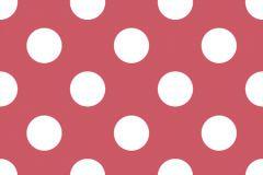 Gyerek,pöttyös,fehér,piros-bordó,gyengén mosható,papír tapéta