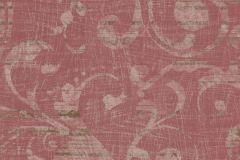 Barokk-klasszikus,piros-bordó,lemosható,vlies tapéta