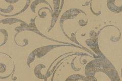 Metál-fényes,barokk-klasszikus,barna,bronz,lemosható,vlies tapéta