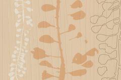 Bőr hatású,különleges felületű,különleges motívumos,természeti mintás,barna,bézs-drapp,lemosható,illesztés mentes,vlies tapéta
