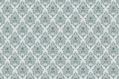 Geometriai mintás,különleges motívumos,rajzolt,retro,kék,szürke,türkiz,zöld,gyengén mosható,vlies poszter, fotótapéta