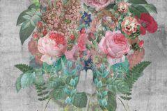 Barokk-klasszikus,rajzolt,retro,természeti mintás,virágmintás,bézs-drapp,narancs-terrakotta,pink-rózsaszín,sárga,szürke,türkiz,zöld,gyengén mosható,vlies poszter, fotótapéta
