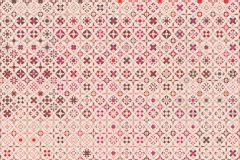 Fotórealisztikus,geometriai mintás,kockás,rajzolt,retro,barna,bézs-drapp,pink-rózsaszín,piros-bordó,gyengén mosható,vlies poszter, fotótapéta