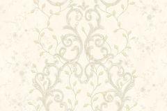 Barokk-klasszikus,csipke,különleges felületű,különleges motívumos,metál-fényes,természeti mintás,textil hatású,textilmintás,virágmintás,arany,bézs-drapp,vajszín,súrolható,vlies tapéta