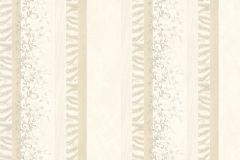 Absztrakt,barokk-klasszikus,különleges motívumos,természeti mintás,textil hatású,textilmintás,virágmintás,fehér,vajszín,súrolható,illesztés mentes,vlies tapéta