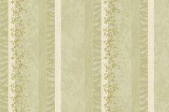 Absztrakt,barokk-klasszikus,különleges motívumos,természeti mintás,textil hatású,textilmintás,virágmintás,fehér,zöld,súrolható,illesztés mentes,vlies tapéta