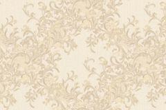 Absztrakt,barokk-klasszikus,különleges motívumos,természeti mintás,textil hatású,textilmintás,virágmintás,arany,bézs-drapp,vajszín,súrolható,vlies tapéta