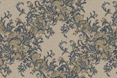 Absztrakt,barokk-klasszikus,különleges motívumos,természeti mintás,textil hatású,textilmintás,virágmintás,bézs-drapp,bronz,fekete,vajszín,súrolható,vlies tapéta