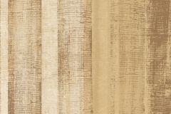 Csíkos,különleges felületű,arany,barna,bézs-drapp,vajszín,súrolható,vlies tapéta