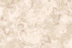 Barokk-klasszikus,különleges felületű,természeti mintás,textil hatású,textilmintás,virágmintás,bézs-drapp,fehér,pink-rózsaszín,vajszín,súrolható,vlies tapéta