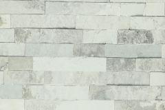 Kőhatású-kőmintás,fehér,szürke,lemosható,papír tapéta