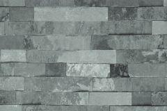 Kőhatású-kőmintás,szürke,lemosható,papír tapéta