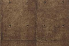 Kőhatású-kőmintás,barna,bronz,lemosható,papír tapéta