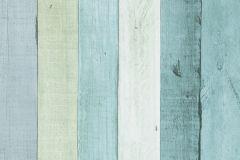 Fa hatású-fa mintás,fehér,kék,zöld,lemosható,papír tapéta